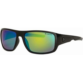 Greys G2 Gloss Black Green Mirror Sunglass