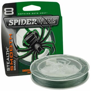 Spiderwire Stealth Smooth 8 Moos Green 0,08mm Verkaufseinheit 10m