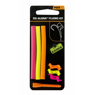 Fox Edges Zig Aligna Fluoro Kit